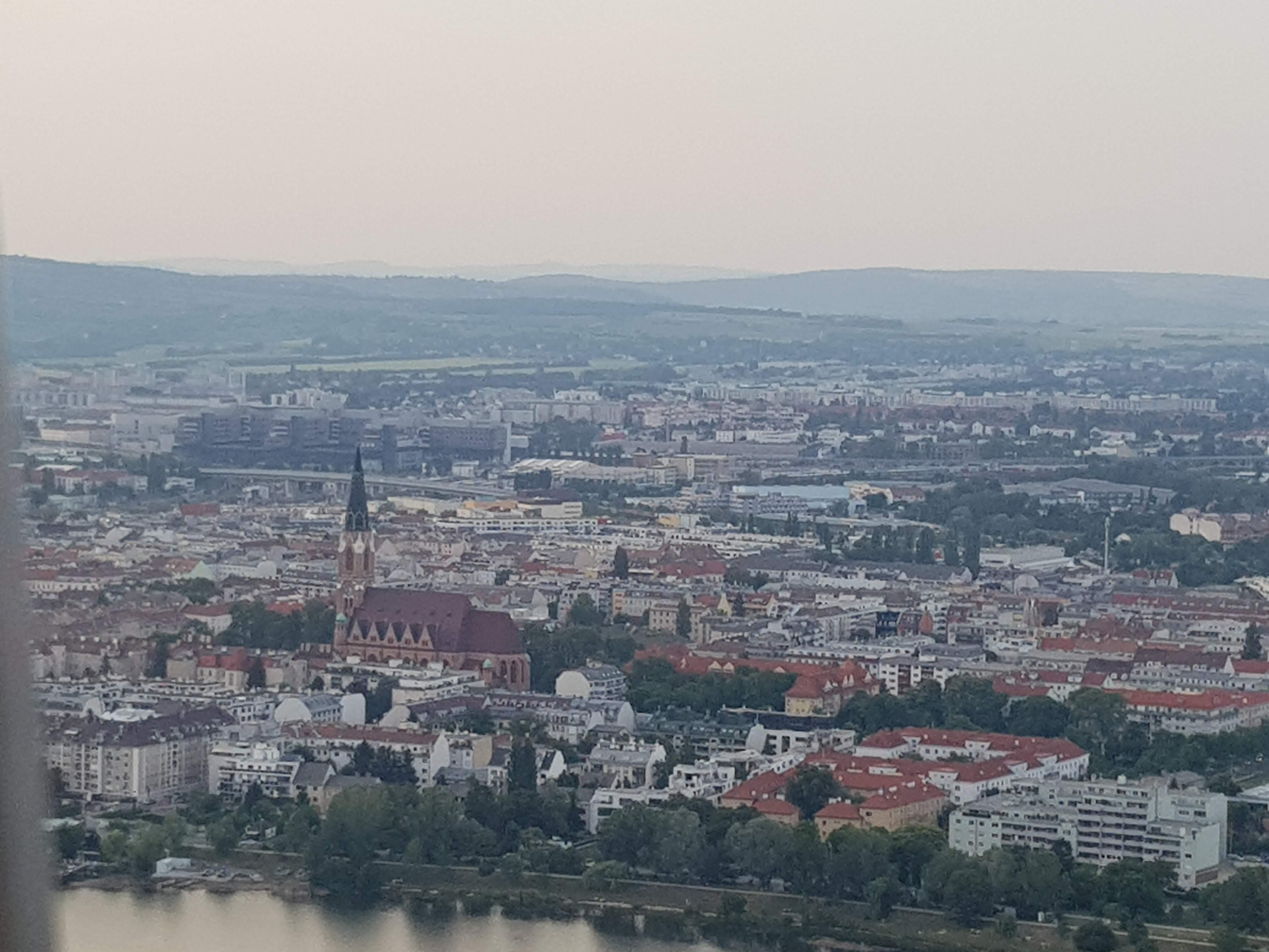 Donau Tower view