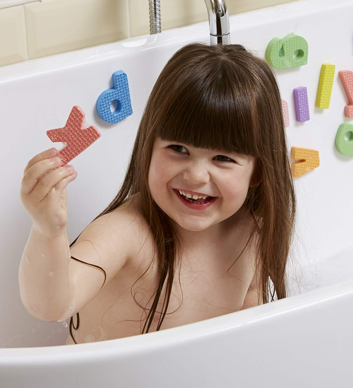 bath foam letters