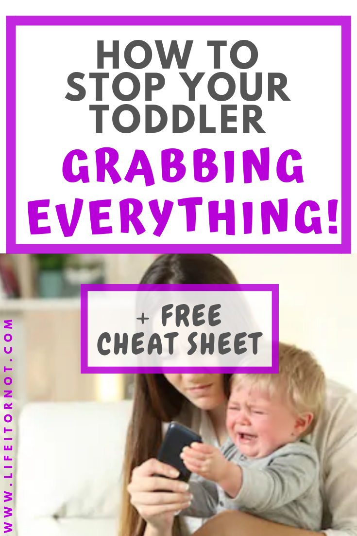 Stop your toddler grabbing 1