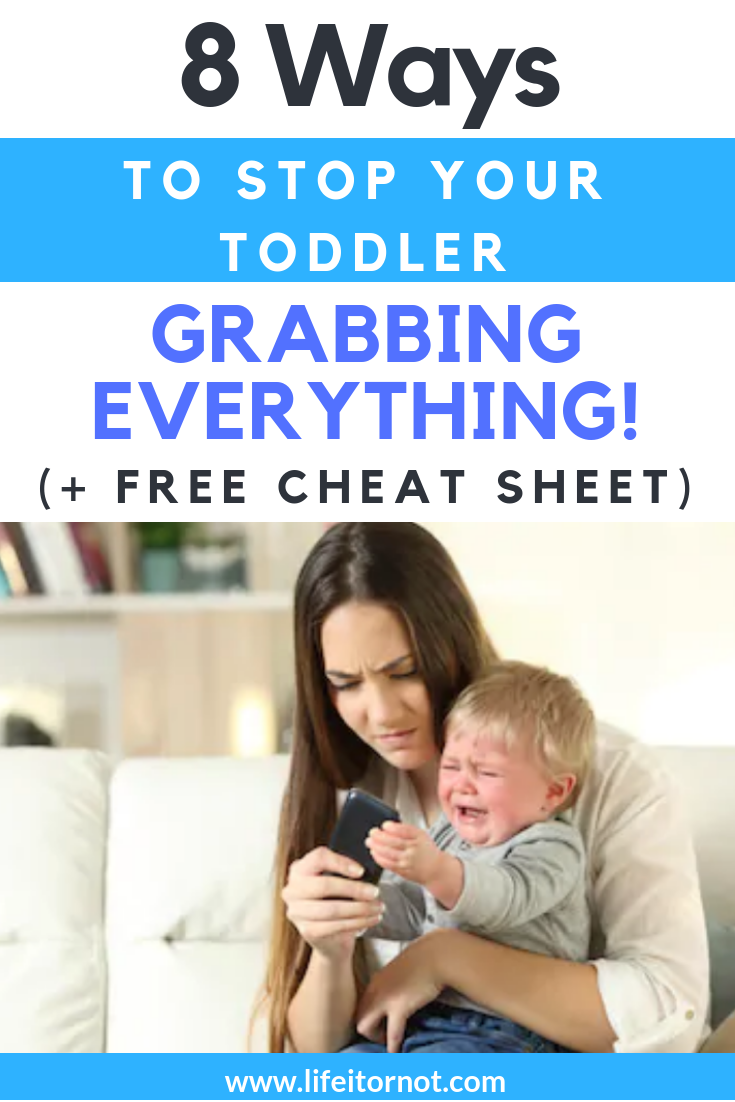 Stop your toddler grabbing 2