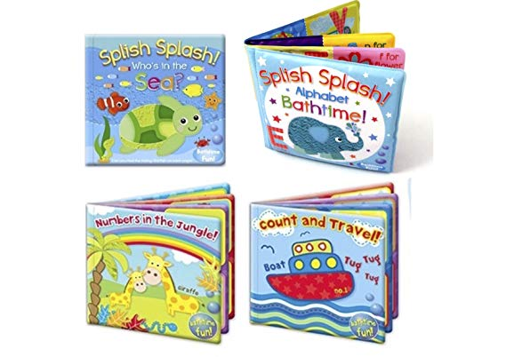 baby bath books