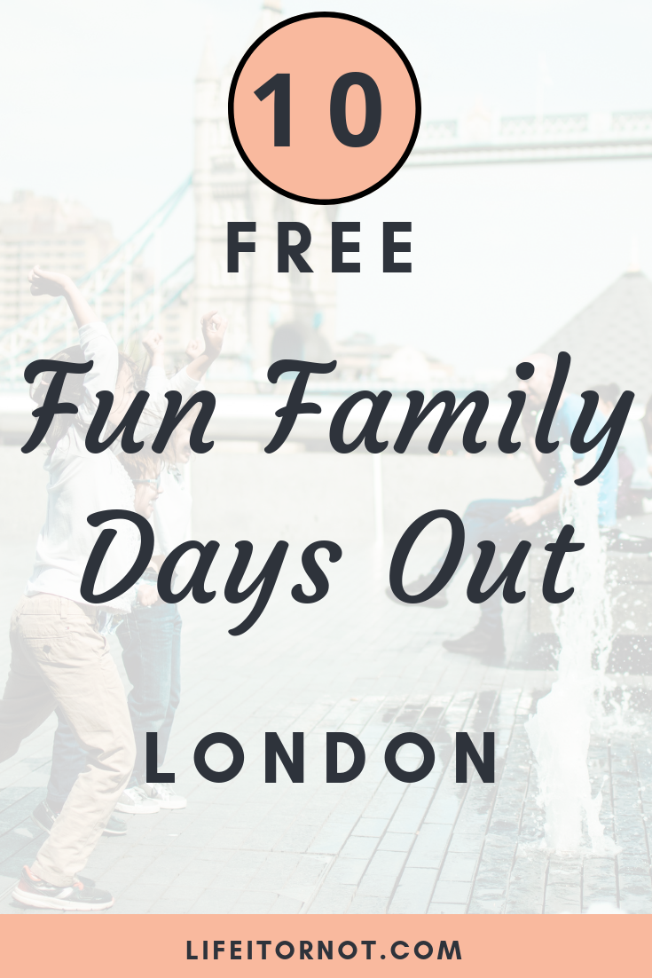 free family days out london