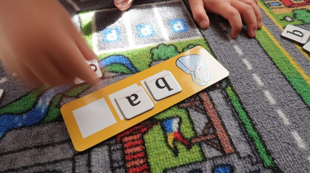 differentiated spelling game