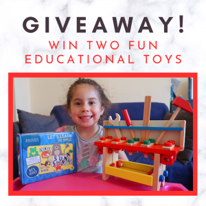 instagram giveaway educational toys
