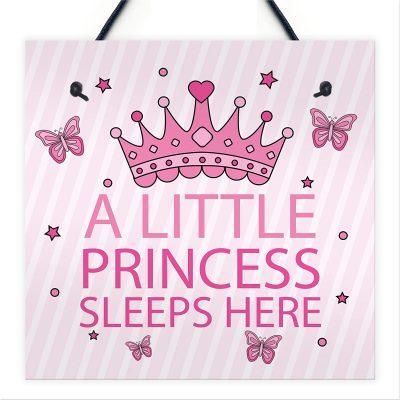 princess wall plaque